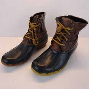Sperry Duck Boots Size 3